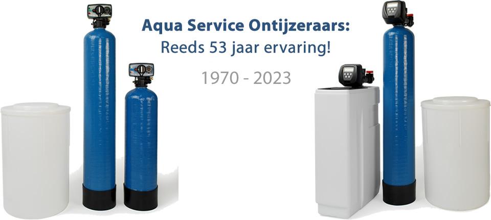 Ontijzeringsinstallatie Aqua Service Ontijzeraar